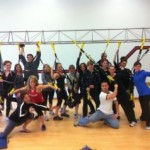 TRX Certified!  (I'm wearing the red shirt)